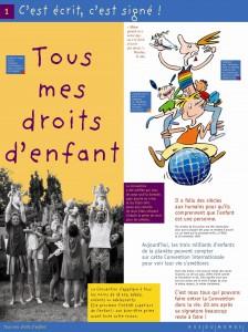 Exposition : Tous mes droits d'Enfant