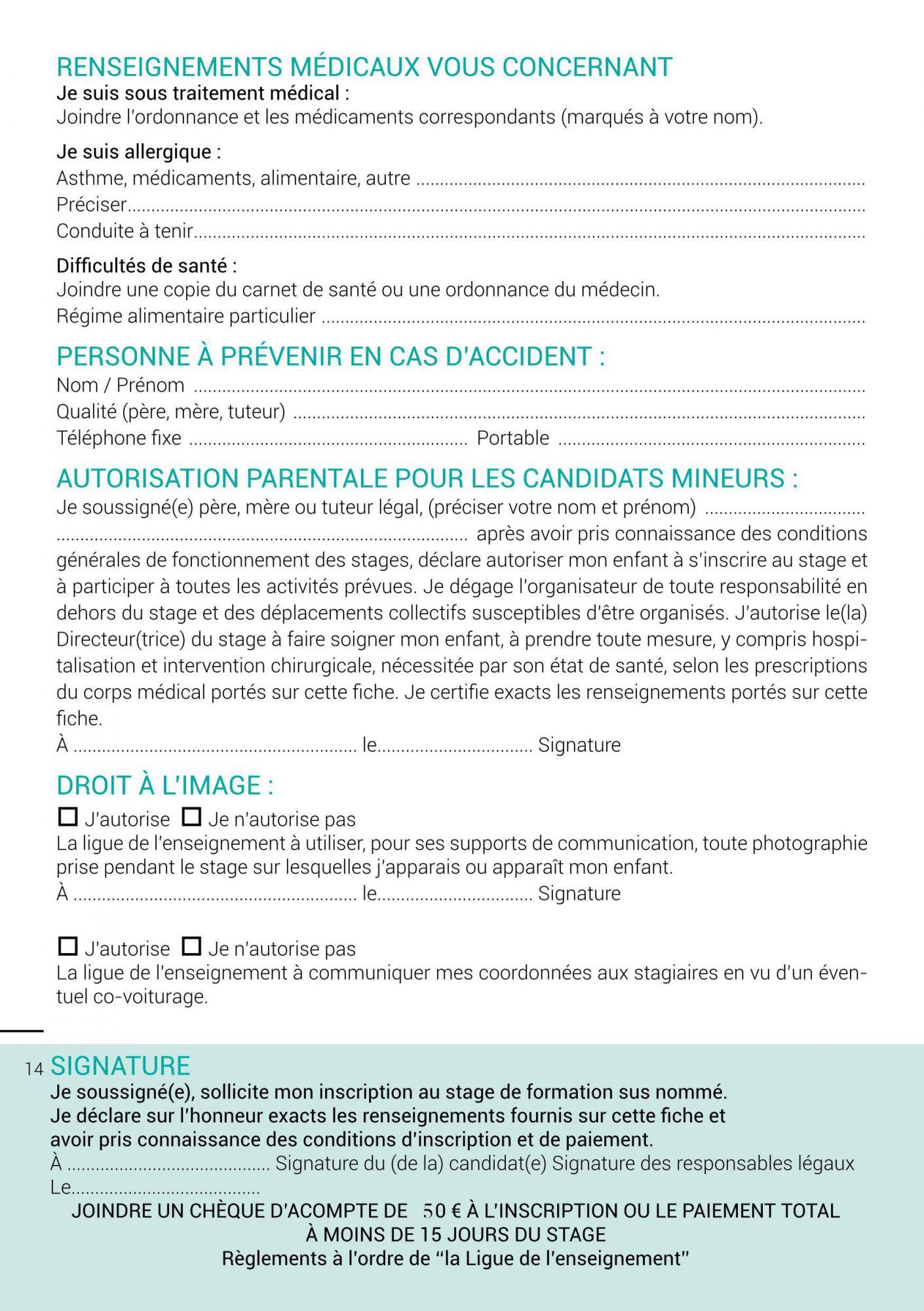 Dossier Pour Inscription Caf