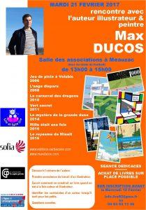 Rencontre avec Max Ducos
