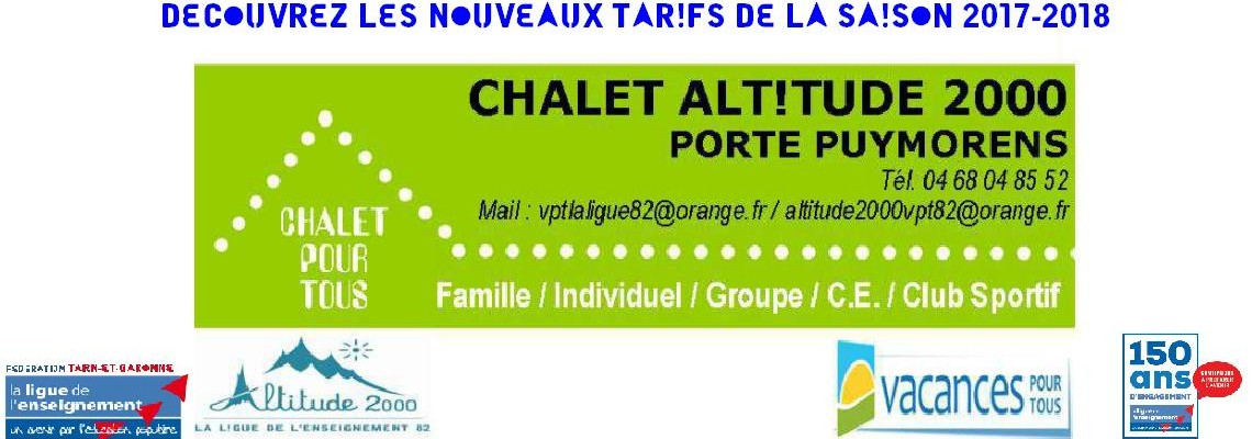 Chalet Altitude 2000