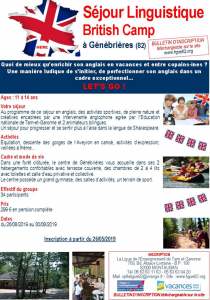 BRITISH CAMP en Tarn et Garonne