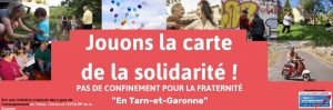 Lancement de l'opération «Jouons la carte de la solidarité en Tarn et Garonne»